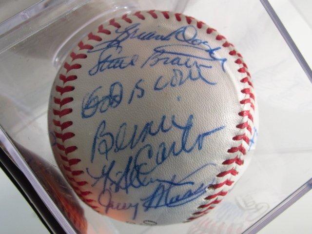 THREE MLB PLAYER SIGNED BASEBALLS - 8