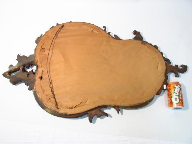 VINTAGE ROCOCO STYLE WALL MIRROR - 6