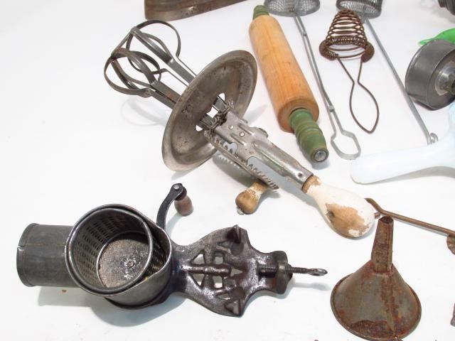 VINTAGE & PRIMITIVE KITCHEN TOOLS & ACCESSORIES: S - 2