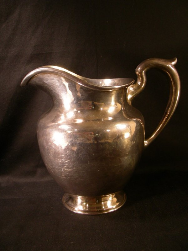 5: HARRIS SHAEFER CO STERLING SILVER WATER PITCHER