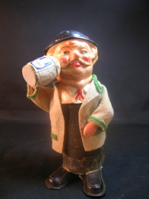 364: ROLLY TOYS PAPER MACHE MAN FIGURE