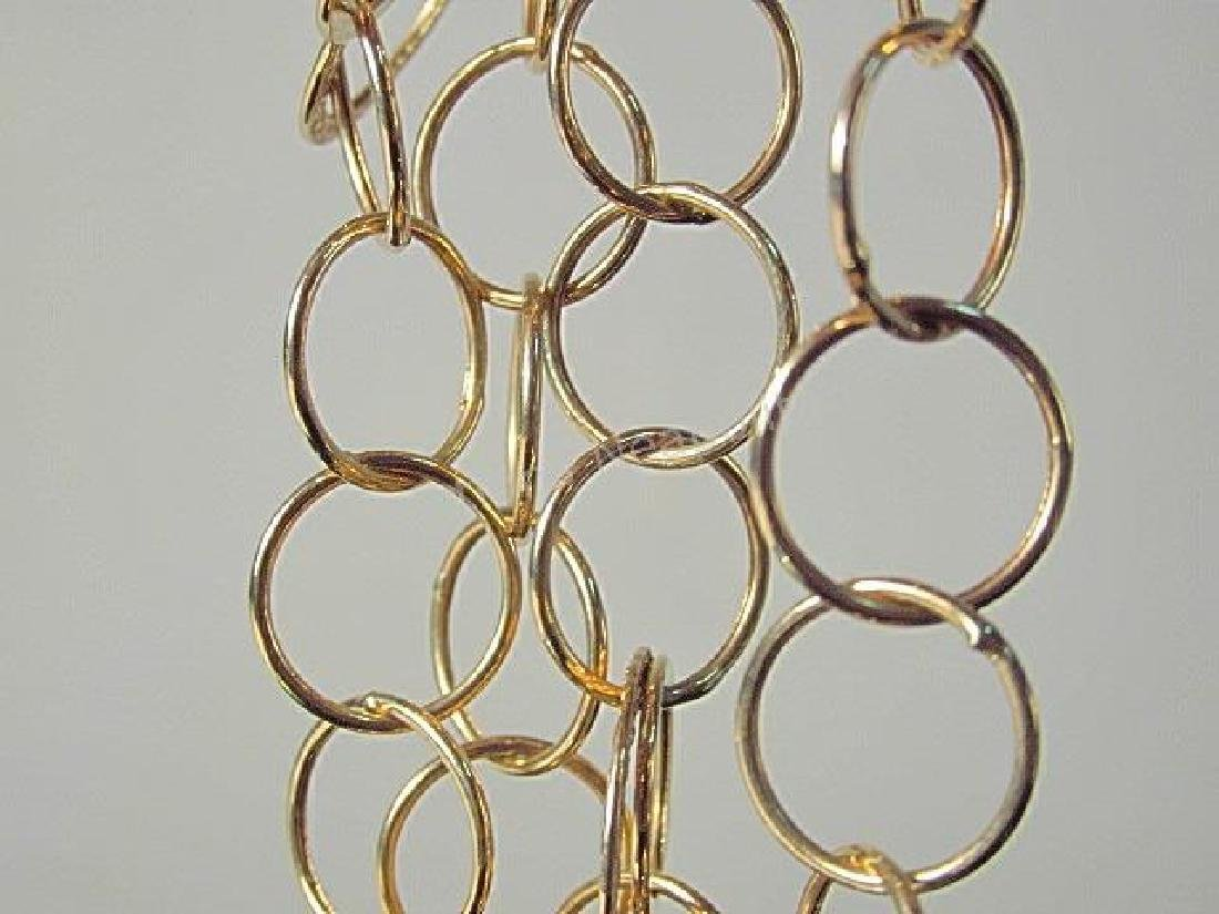 TURKISH 14K GOLD CHAIN LINK NECKLACE 13.3 GRAMS - 3