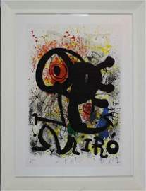Joan Mirò, Sculptures et ceramiques, 1973