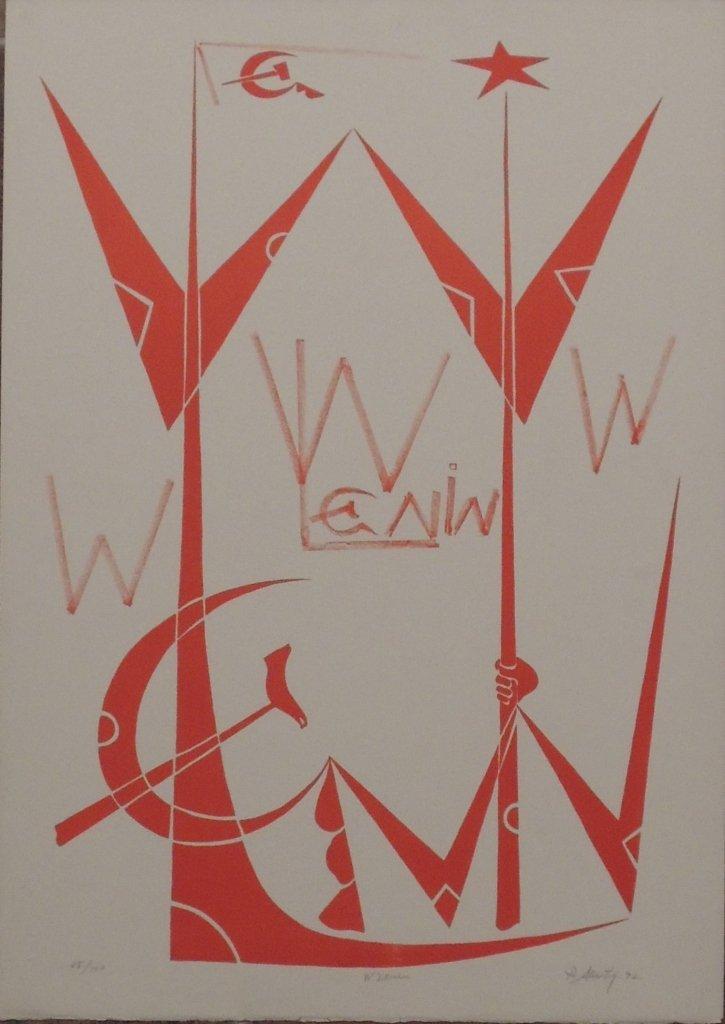 3: Rafael Alberti, W Lenin, 1972