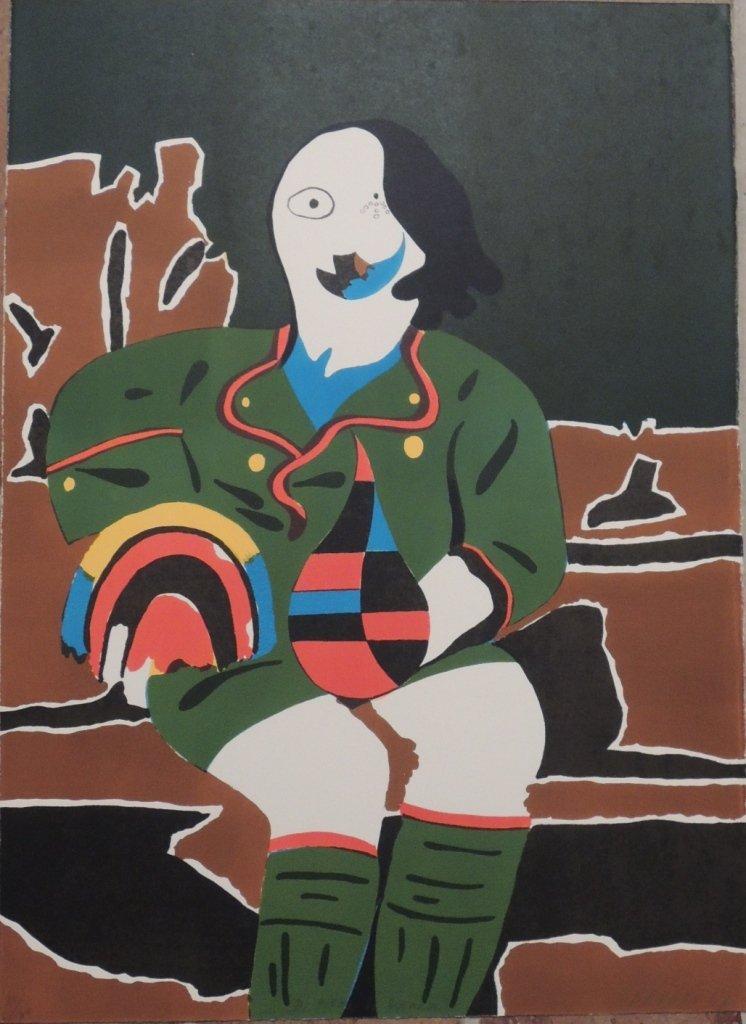 12: Eduardo Arroyo, Il pittore di Monaco, 1969