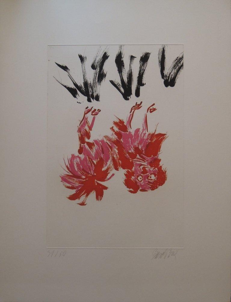 14: George Baselitz, Tama I, 2002