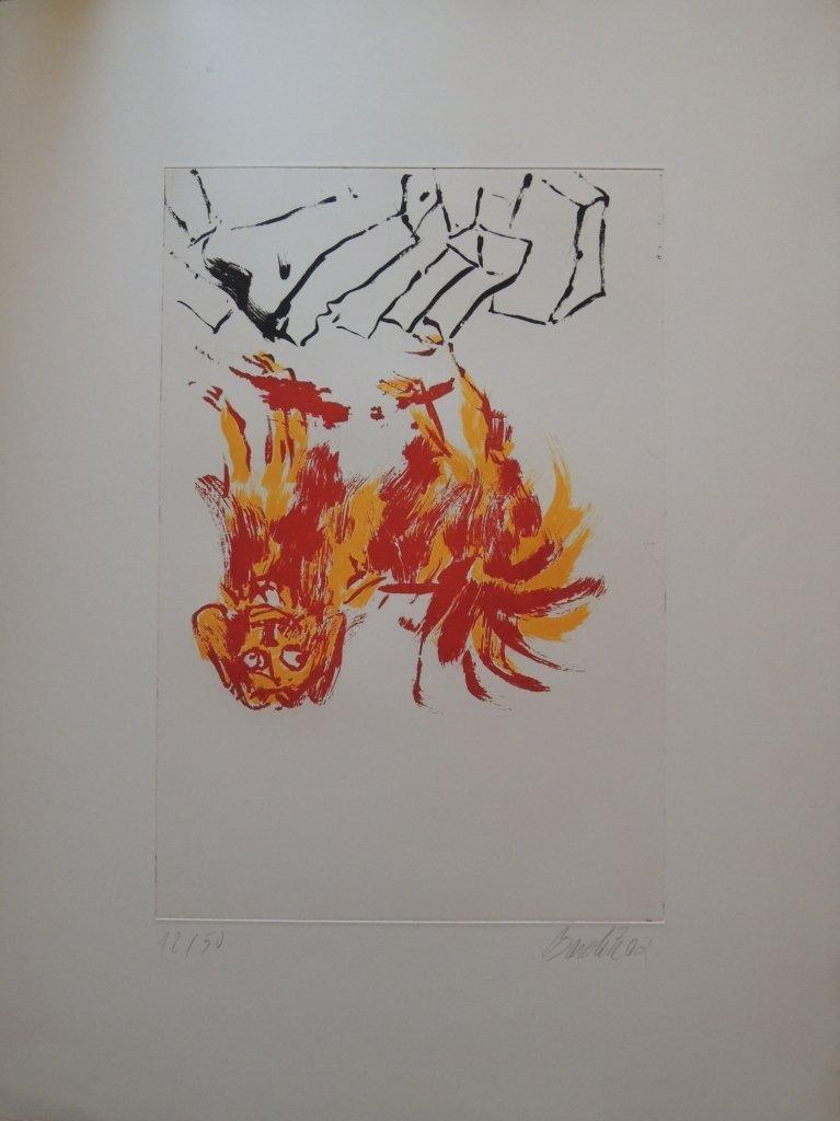 15: George Baselitz, Tama II, 2002