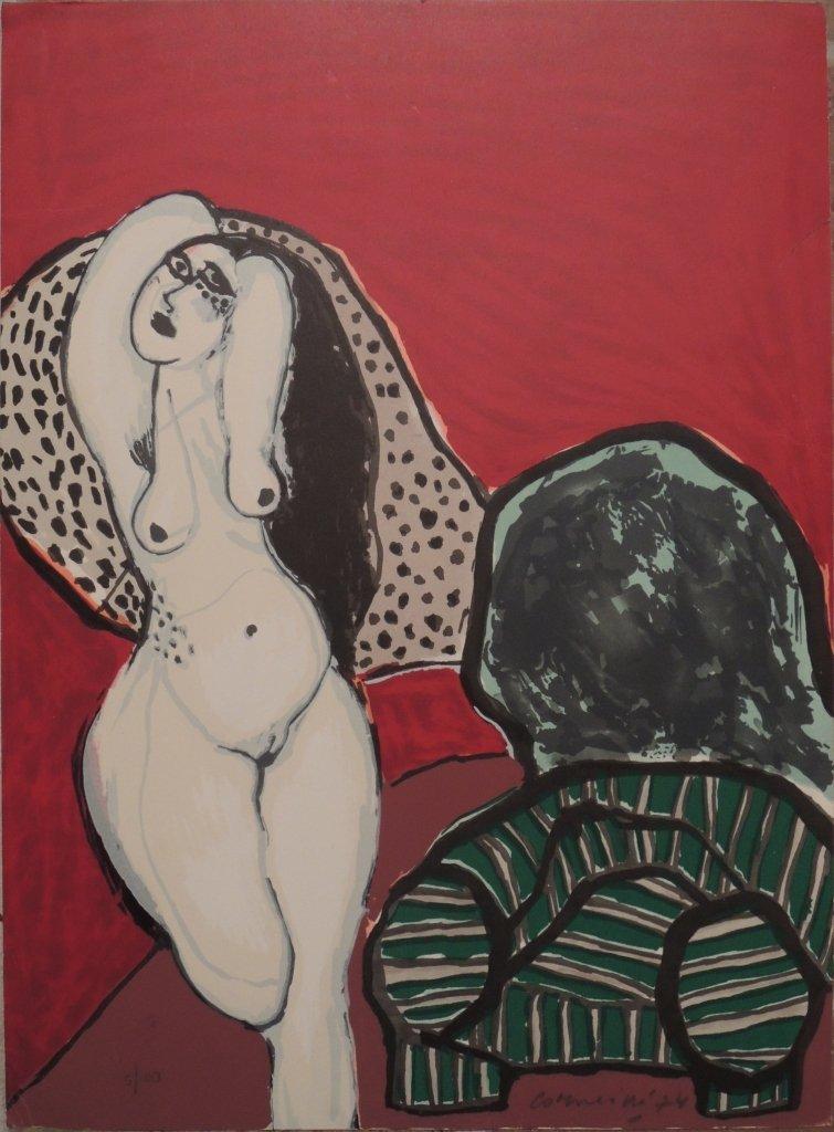 19: Guillaume Corneille, Donna e poltrona, 1974