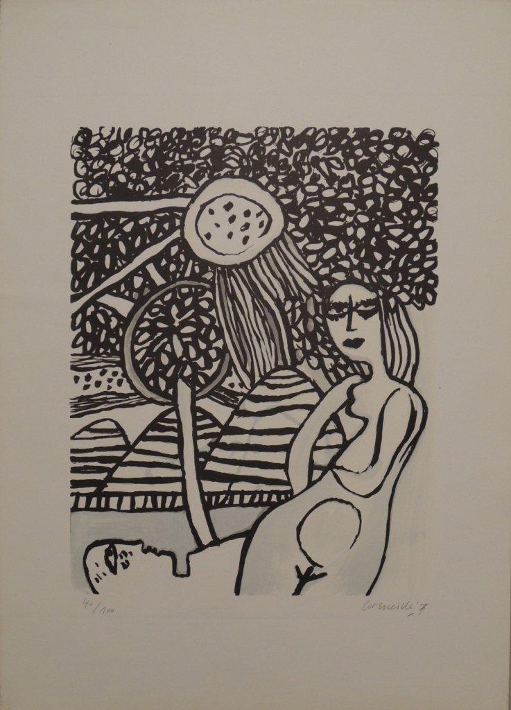 20: Guillaume Corneille, Sotto la verzura, 1975