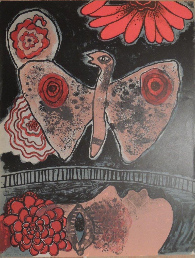 21: Guillaume Corneille, Un reve, 1972