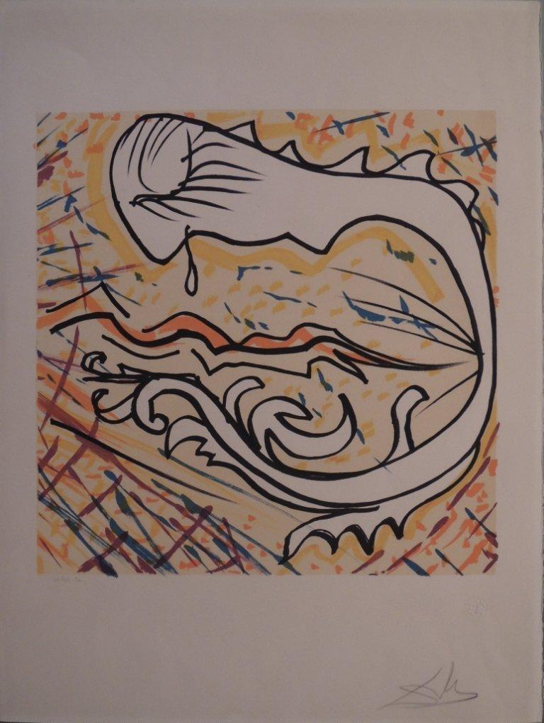 23: Salvador Dalì, Les vitraux, 1974