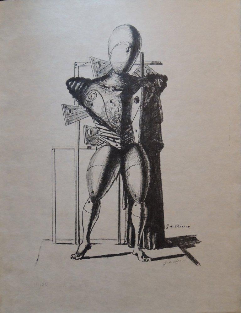 24: Giorgio De Chirico, Trovatore, 1967