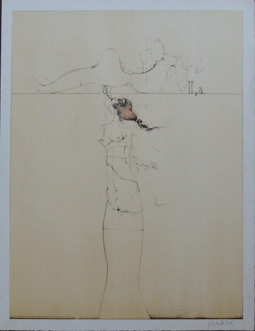 Paul Wunderlich, Salomon's, 1970