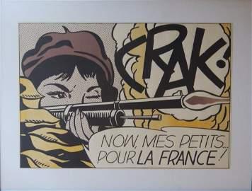 Roy Lichtenstein, Crak, 1963-64