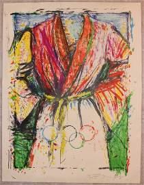 Jim Dine, Olympic Robe, 1988