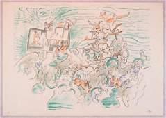 Roberto Matta, La promenade de Vénus, 1976