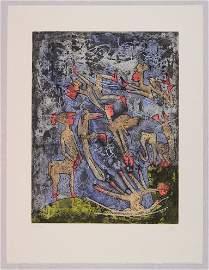 Roberto Matta, L'ame du Tarot de Theleme, 1994