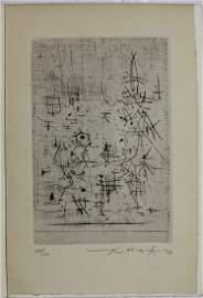 Zao Wou-Ki, Untitled from 'L'Oeuvre gravée 1949-1954,