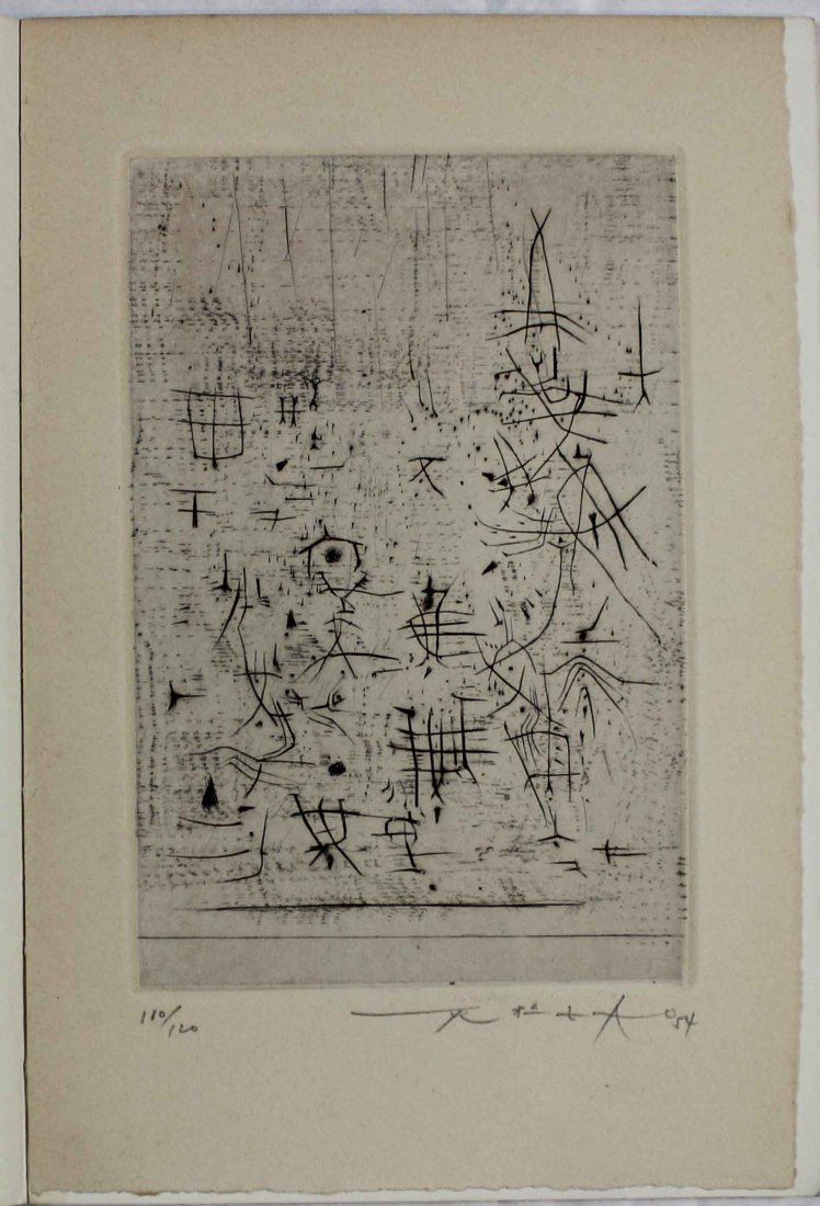 Zao Wou-Ki, Untitled from 'L'Oeuvre gravée 1949-1954,
