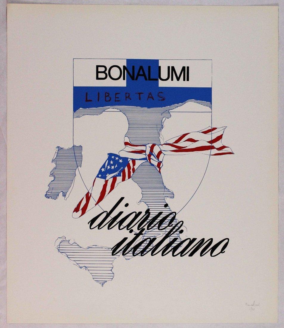 Agostino Bonalumi, Diario italiano portfolio, 1970