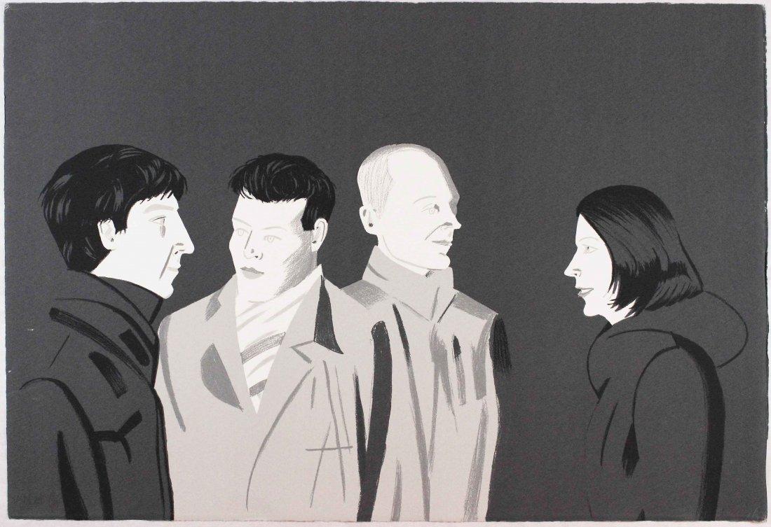 Alex Katz, Unfamiliar, 2001