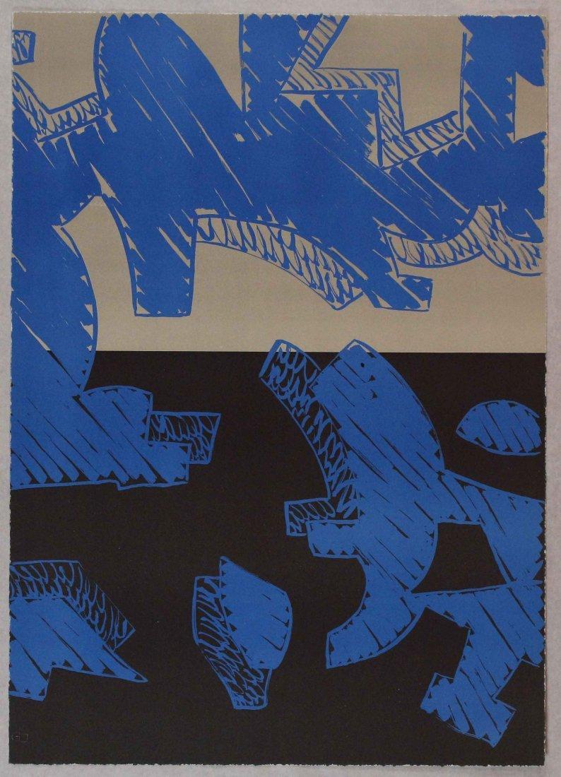 Carla Accardi, Blu, 2000