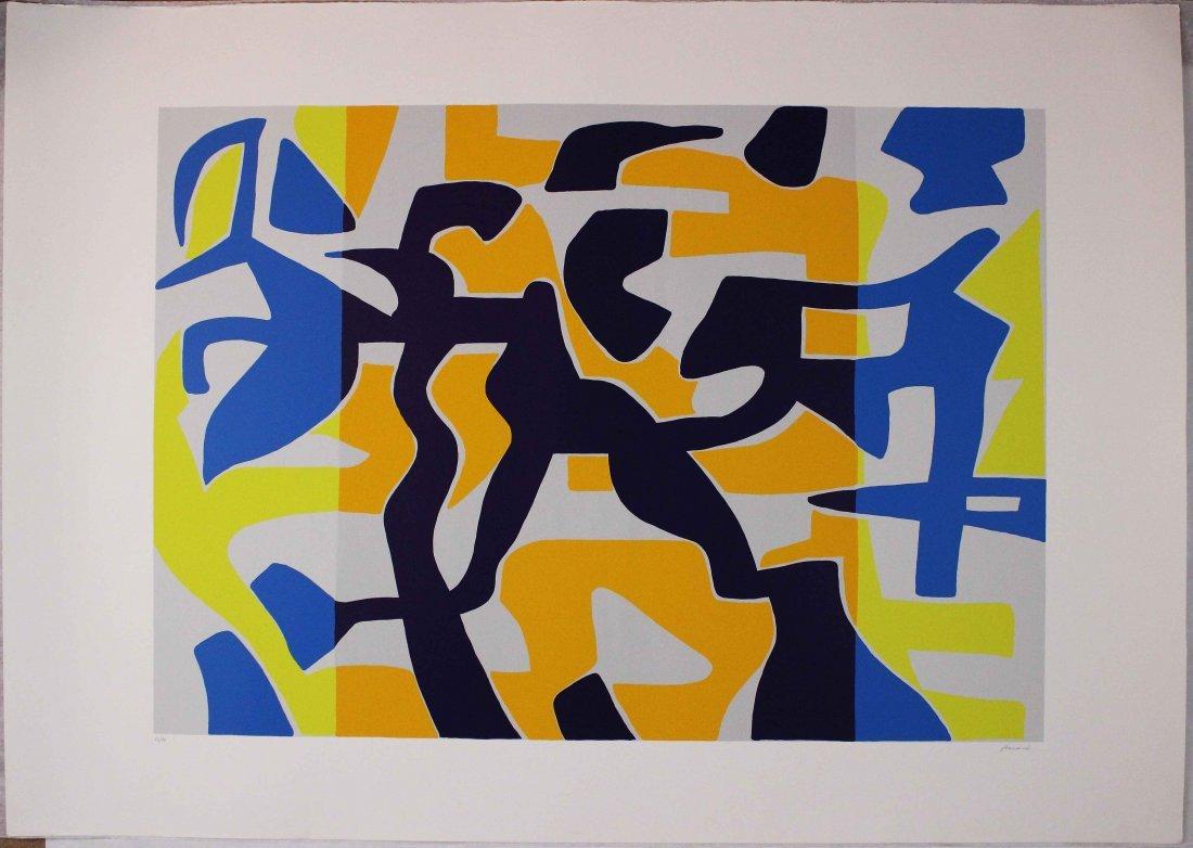 Carla Accardi, Serigrafia a colori