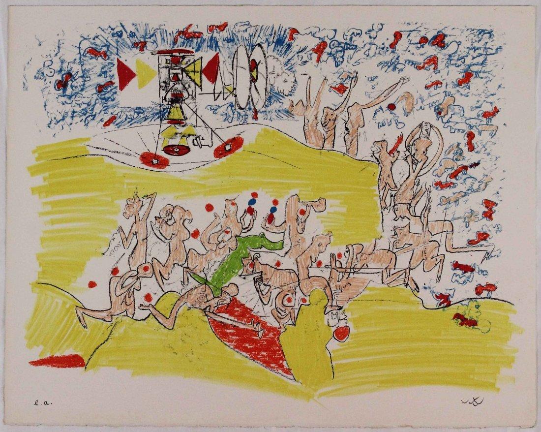 Roberto Matta, For Gog Magog I, 1971
