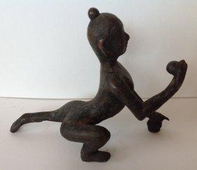 4: 2 Bronze Sculptures