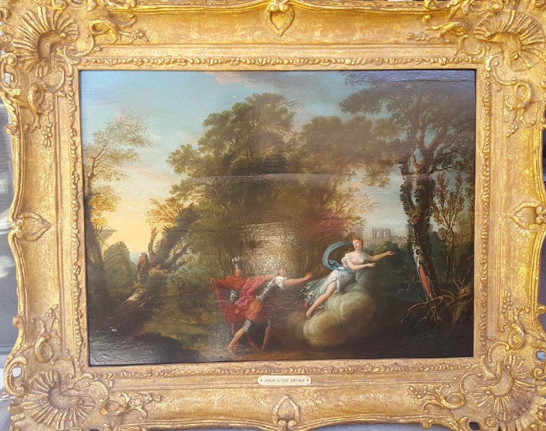 French Old Master 18th Century Mythological