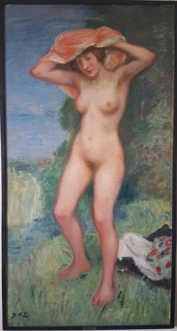 Georges D'Espagnat French Impressionist Nude LARGE