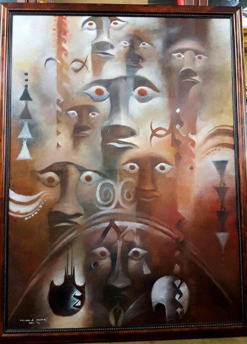 Cristián Arévalo Pakarati Easter Island Mythological