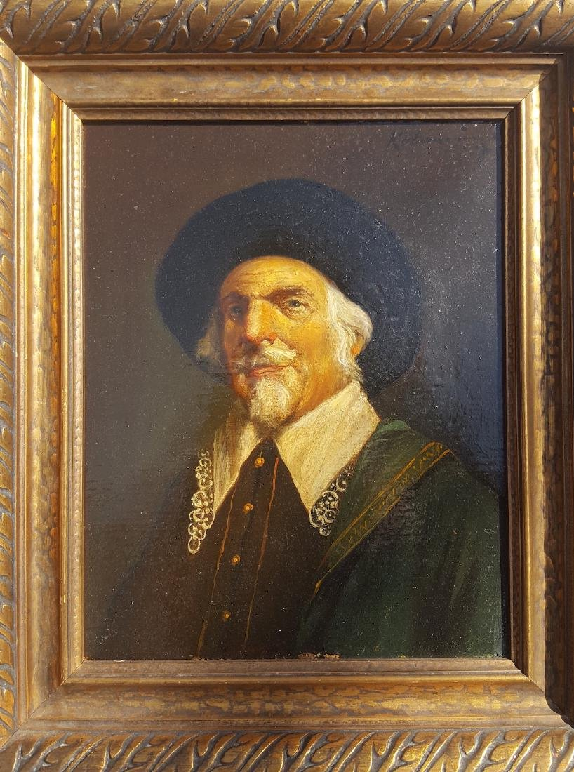 Portrait of gentleman 18th century
