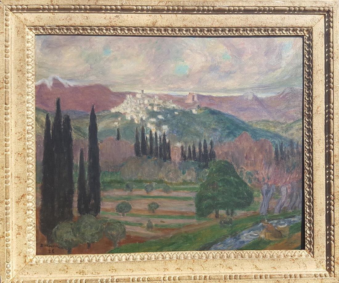 Eugene Durenne (1860-1944) French Impressionist Riviera