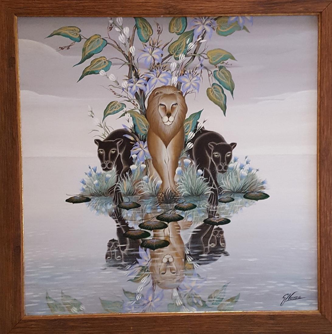 Gustavo Novoa Surrealist Wildlife Painting