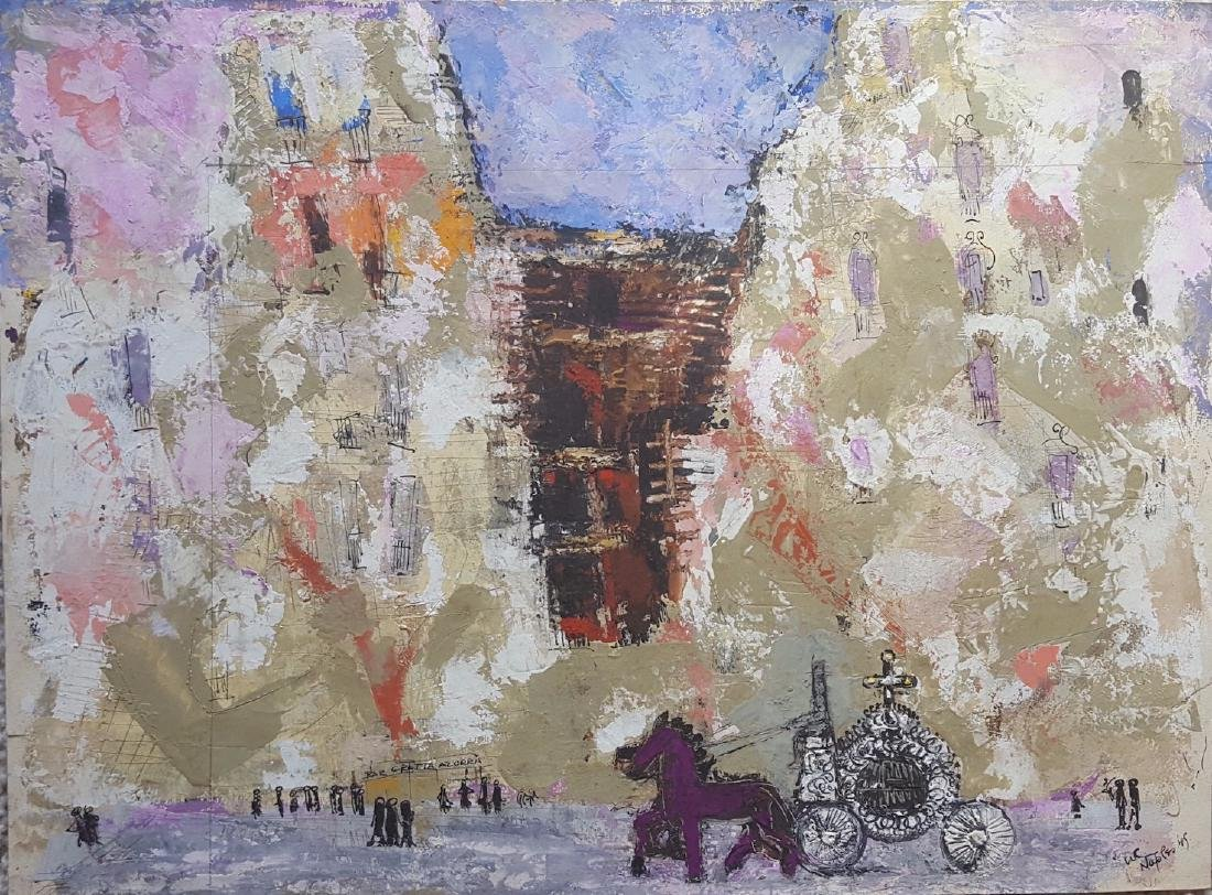 William G. Congdon (1912-1998) Modernist Painting