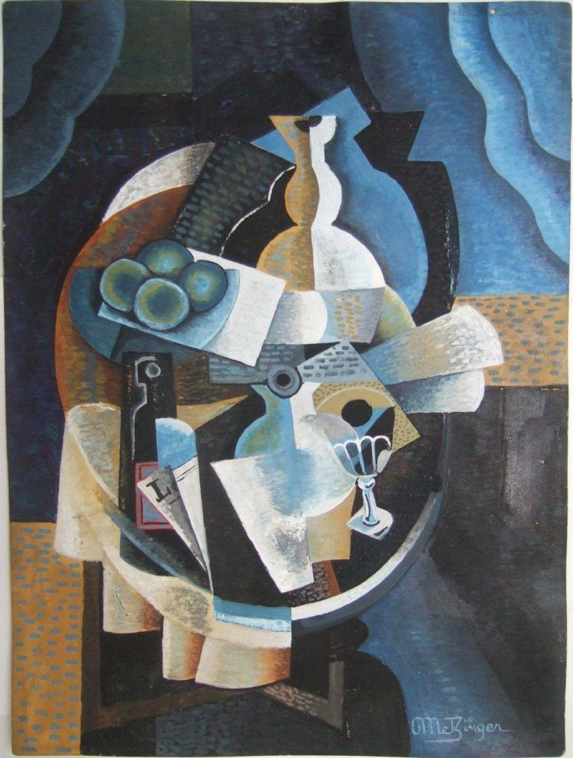 Jean Metzinger (1883-1956), attr. Cubist Painting