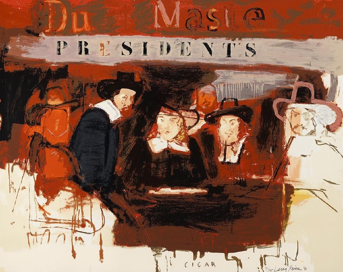 Larry Rivers Dutch Masters (Presidents) SIGNED LIMITED