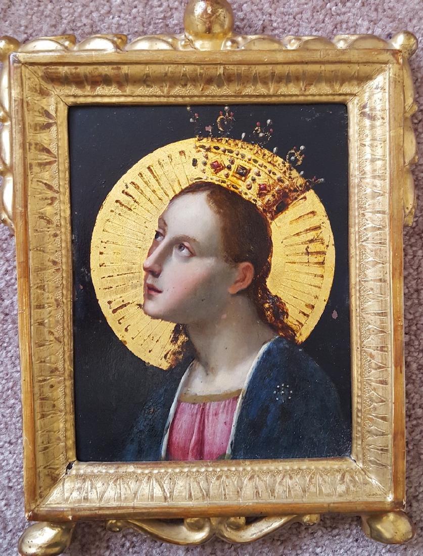 Italian Old Master Renaissance Painting on Copper