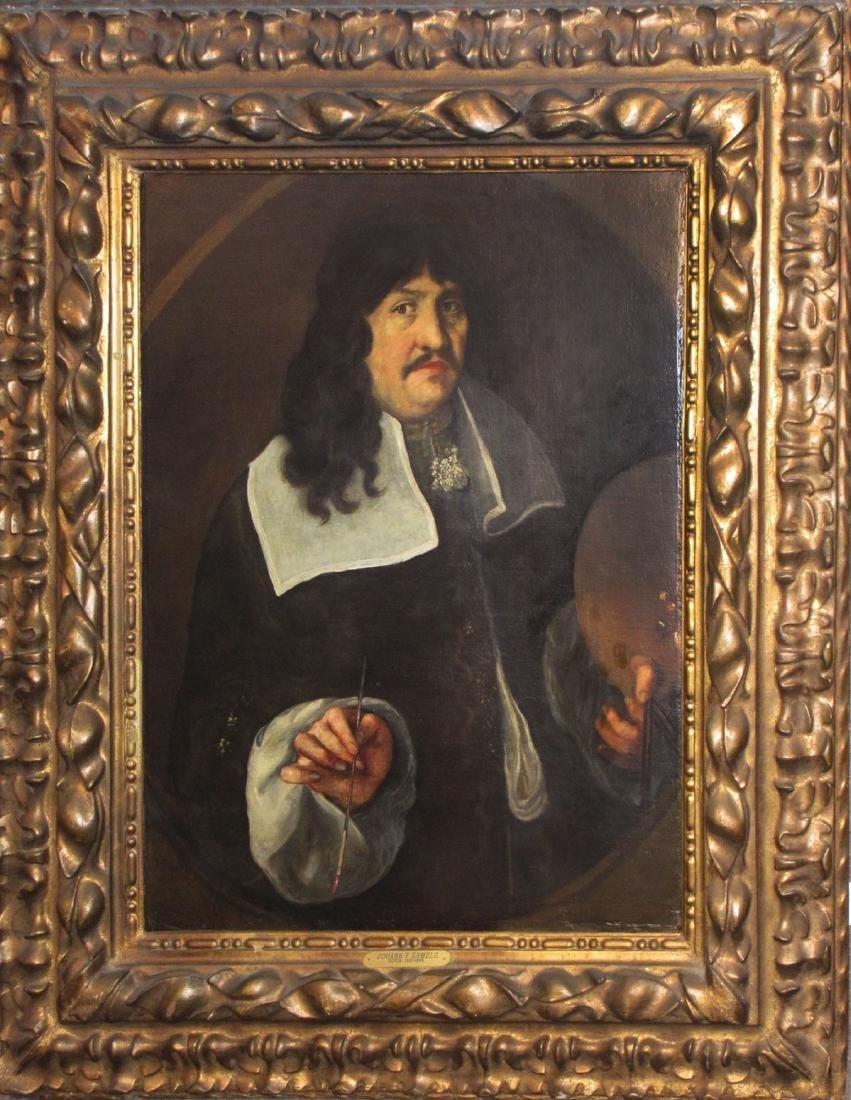 Old Master Dutch portrait MONUMENTAL SIZE
