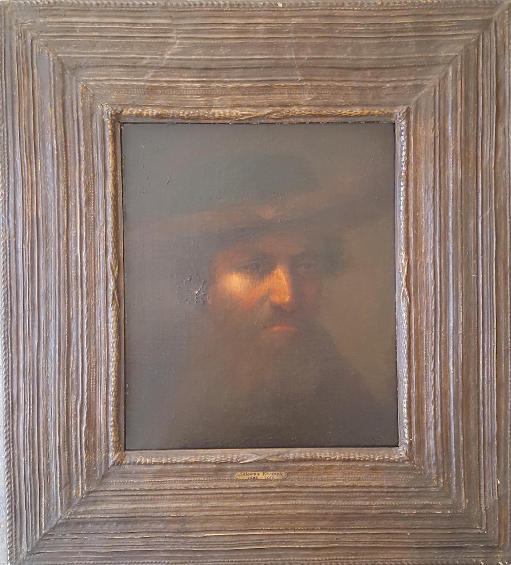 Dutch Old Master Portrait. Salomon Koninck, attr.