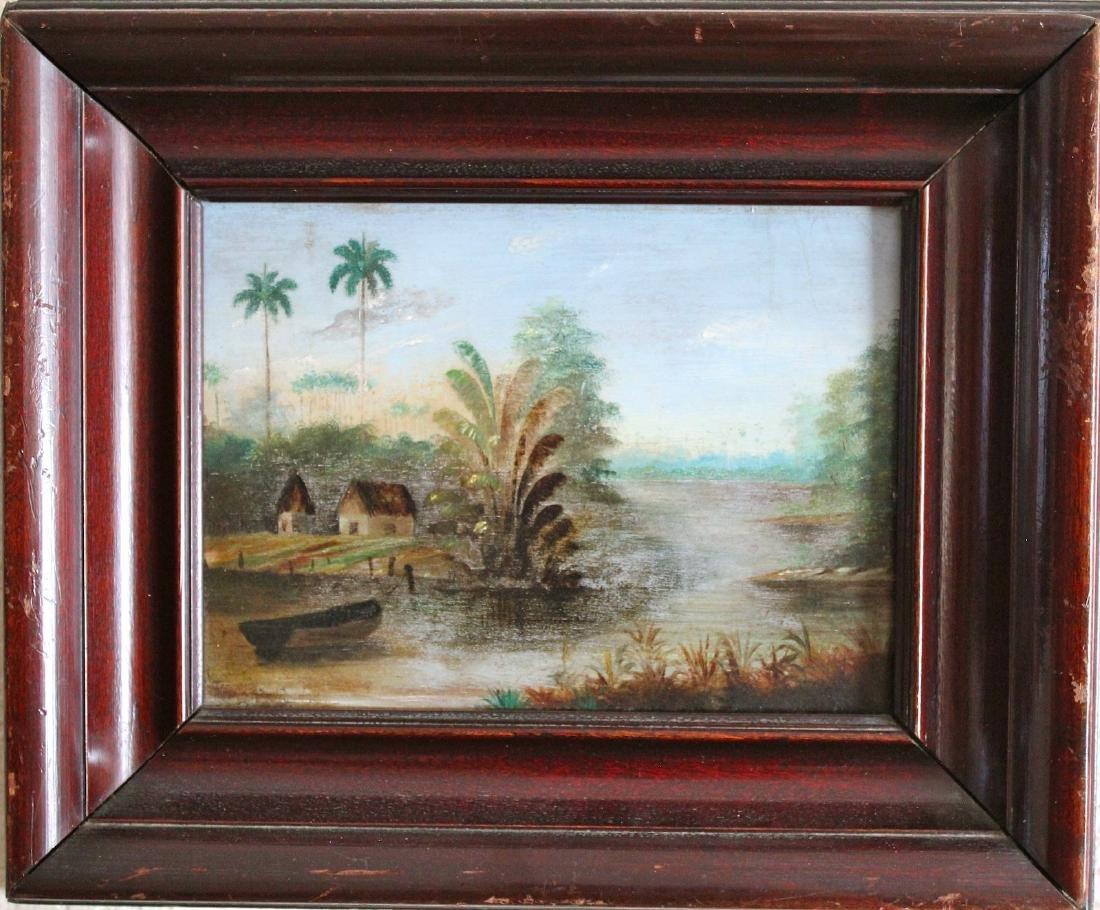 Esteban Chartrand CUBA antique painting