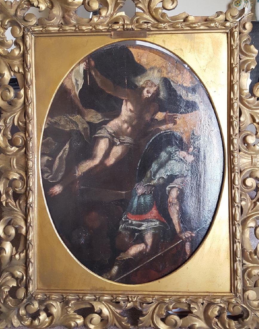 Italian old master Titian style painting