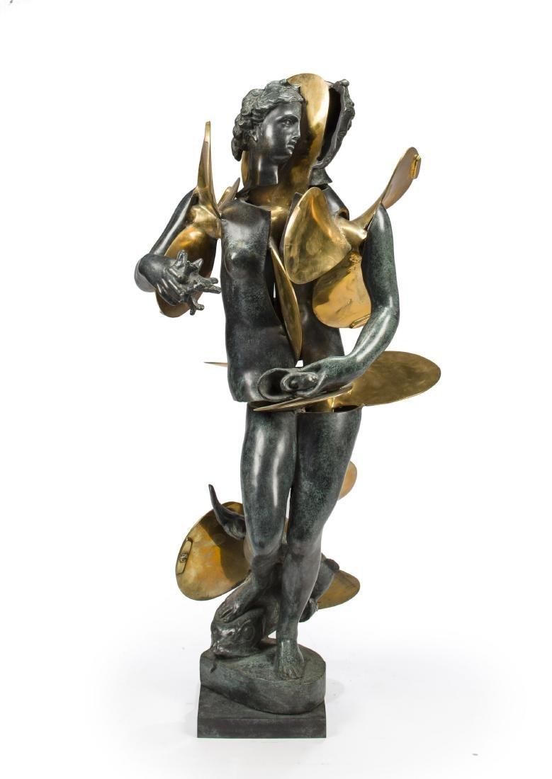 "Arman Bronze Sculpture  LARGE ""Amphitrite with"