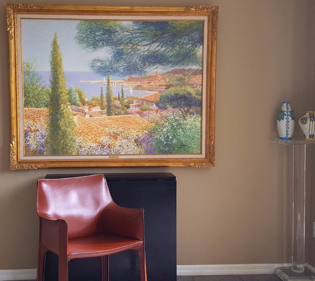 Louis P. Fabien French Belgian Impressionist Painting