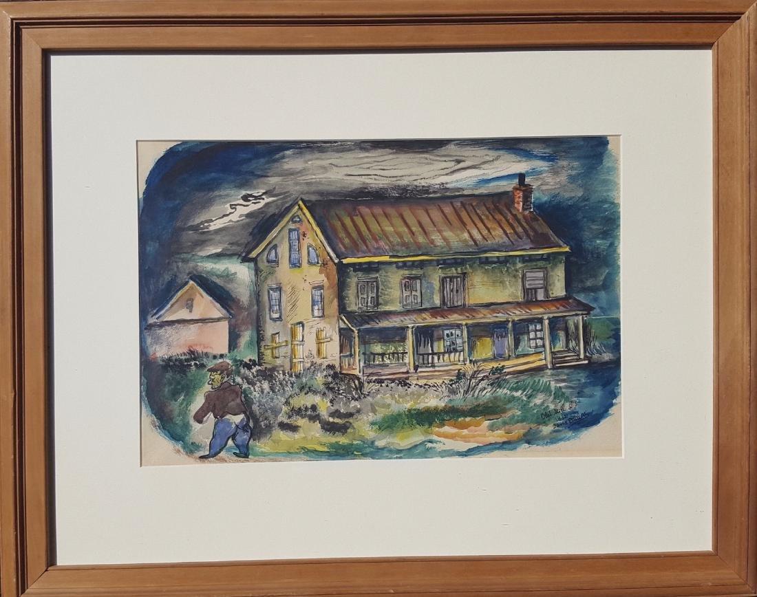 David Burliuk Painting 1932 Celebrity Collection