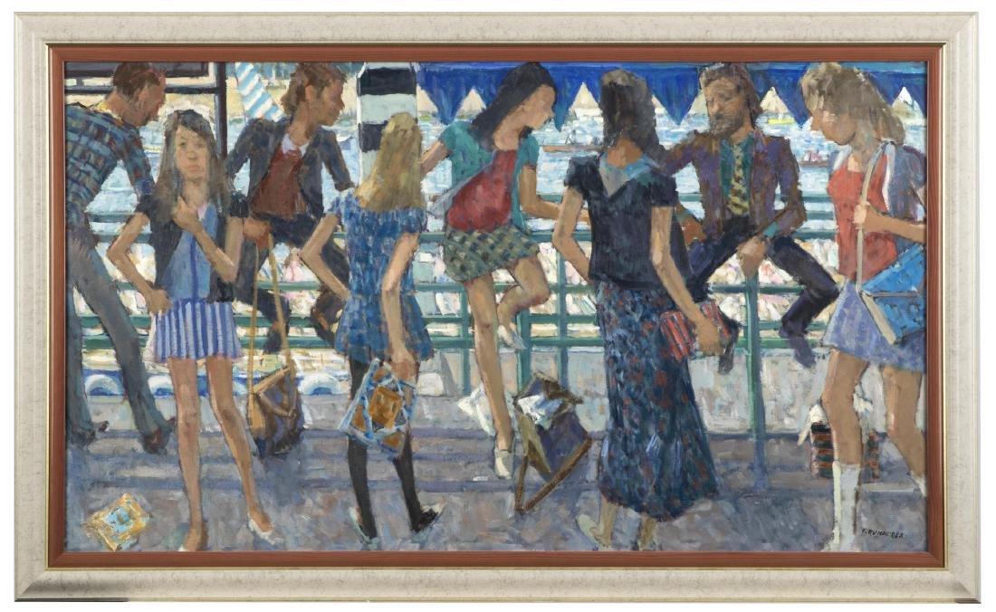 Frank Runacres (1904-1974) British Modern Painting