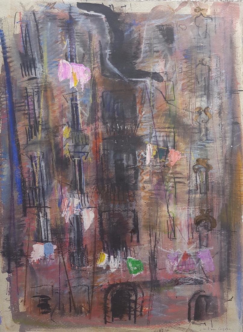 William G. Congdon (1912-1998) Modernist Painting - 4