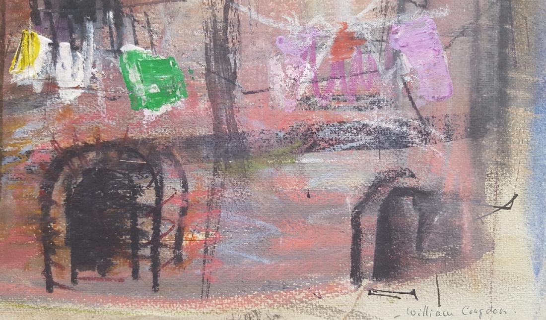 William G. Congdon (1912-1998) Modernist Painting - 5