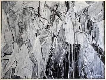 Nicolas Carone (American, 1917 - 2010) Abstract